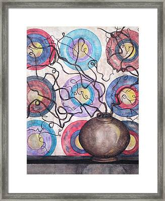Twisted Zen Framed Print by David Raderstorf