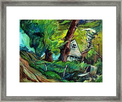 Twister Framed Print by Charlie Spear