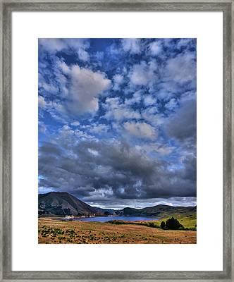 Twitchell Reservoir  Framed Print