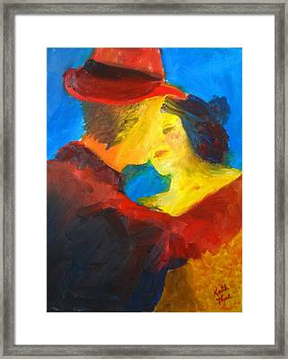 Two Am Tango Framed Print by Keith Thue