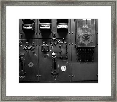 Two And Three Switches Framed Print by Jan W Faul