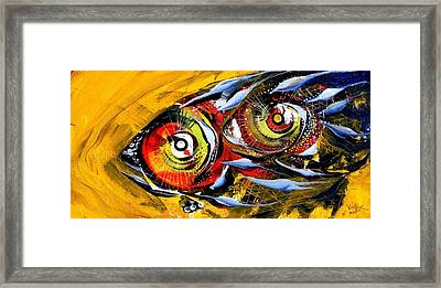 Two Around The World Framed Print