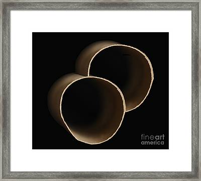 Two As A Minimum  Framed Print