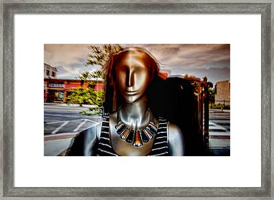 Two Bit Street Framed Print by Al Perry