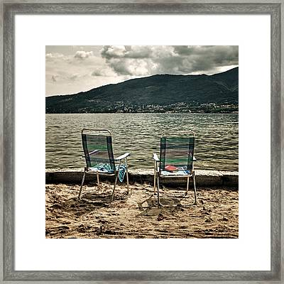 Two Chairs Framed Print