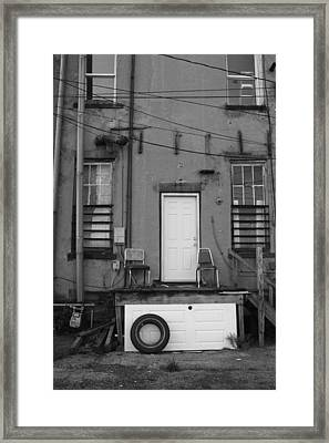 Two Doors Framed Print