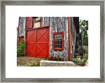 Two Doors Framed Print by Tamera James