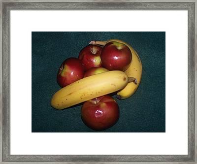 Two Favorite Fruits Framed Print