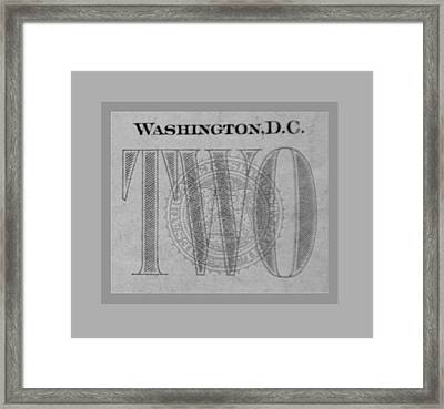 Two In Grey Framed Print by Rob Hans