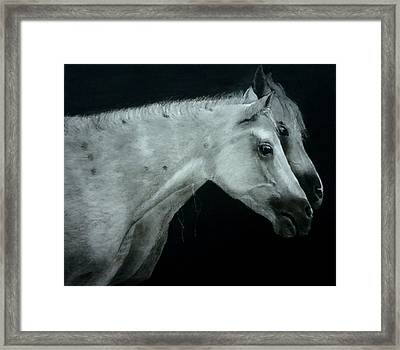 Two Is Company Framed Print