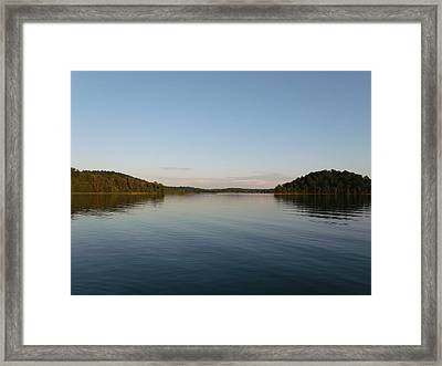 Two Islands  Framed Print by Brian  Maloney