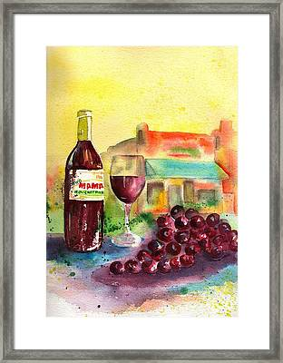Two Mamas Gourmet Pizza Framed Print by Sharon Mick