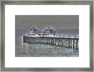 Two Towers Malibu Framed Print