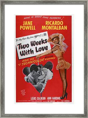 Two Weeks With Love, Insert Ricardo Framed Print
