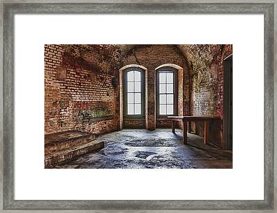 Two Windows Framed Print