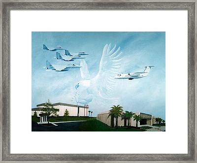 Tyndall Afb Later Years Framed Print