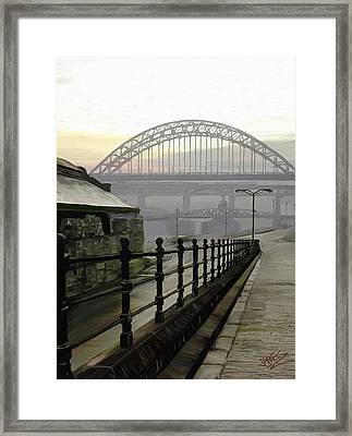 Tyne Bridge Framed Print