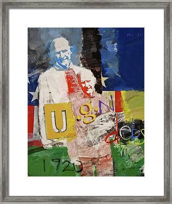 U G N Debs  -m- Framed Print