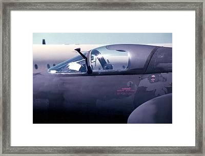 U2 Cockpit Framed Print by Lynnette Johns