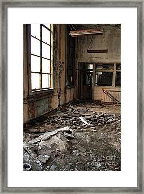 Uban Decay Framed Print