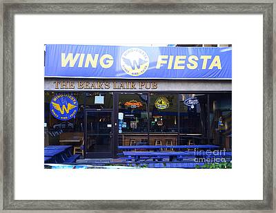 Uc Berkeley . Bears Lair Pub . 7d10165 Framed Print by Wingsdomain Art and Photography