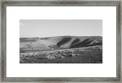 Uffington White Horse Framed Print