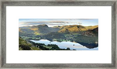Ullswater From Place Fell Framed Print by Stewart Smith