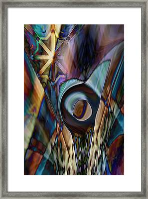Framed Print featuring the digital art Ultimately None by Steve Sperry