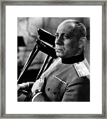 Ultimatum, Erich Von Stroheim, 1938 Framed Print