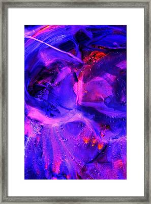 Ultraviolet Framed Print by Colleen Cannon