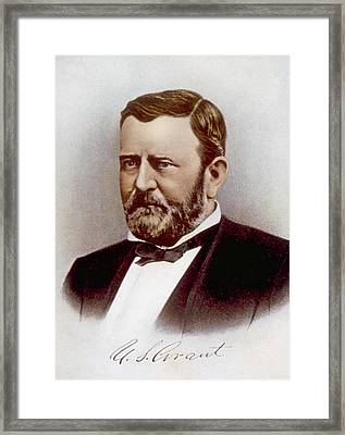 Ulysses S. Grant 1822-1885, U.s Framed Print by Everett