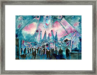 Ums Inverted Special Framed Print