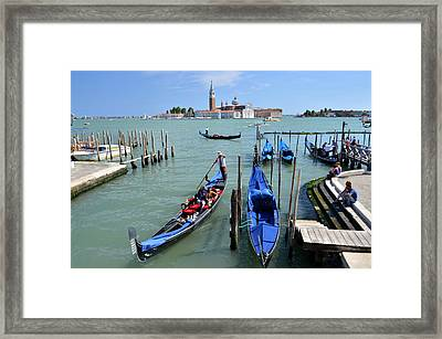 Un Altro Giorno A Venezia Framed Print by Martina Fagan