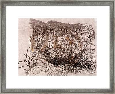 Un Becoming Basket Framed Print by Charles B Mitchell