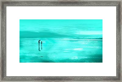 Framed Print featuring the photograph Una Concha  by Alfonso Garcia