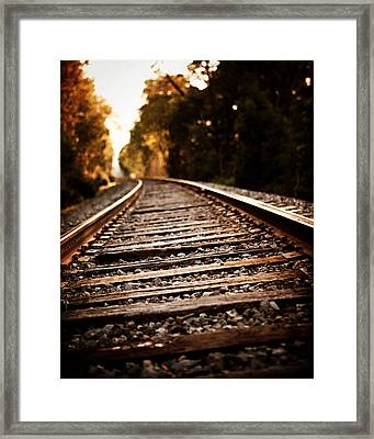 Unbounded Framed Print by Lisa Russo