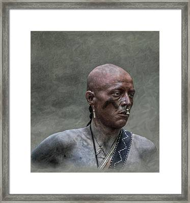 Uncertain Future Framed Print