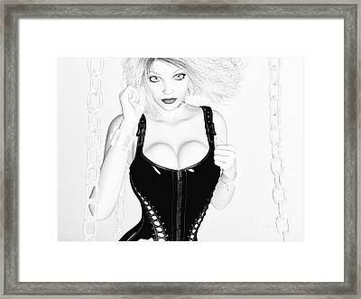 Unchained Framed Print by Alexander Butler