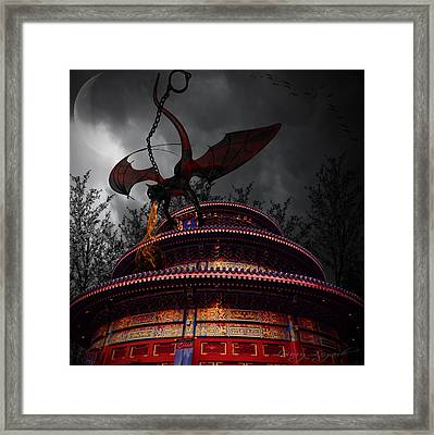 Unchained Protector Framed Print by Lourry Legarde