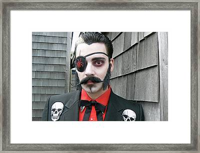 Uncle Eerie Framed Print by Pamela Patch