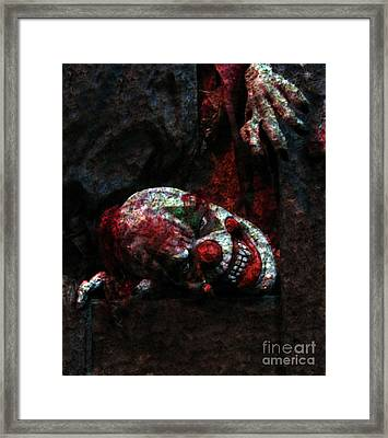 Uncle Giggles Framed Print