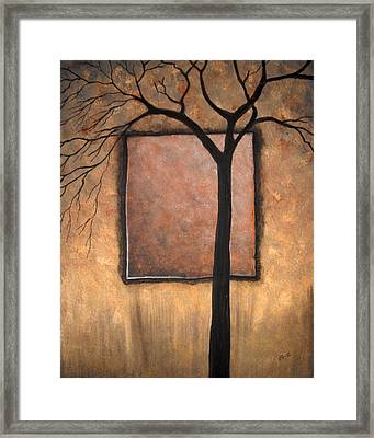 Uncompleted Shadows Framed Print by Edwin Alverio
