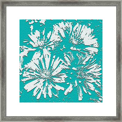 Under A Turquoise Sky Framed Print by Yvonne Scott