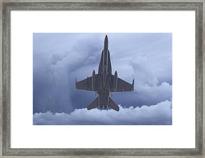Under Belly V2 Framed Print