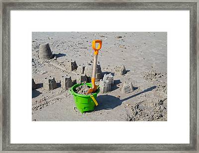 Under Construction Framed Print by Betsy Knapp