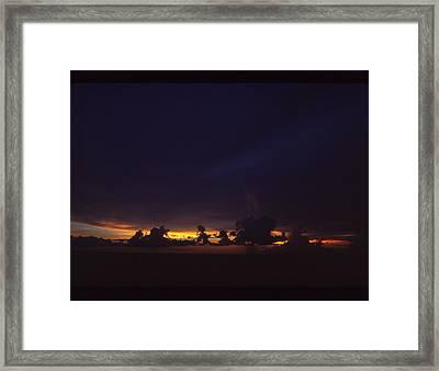 Under Darken Sky Framed Print by Bob Whitt