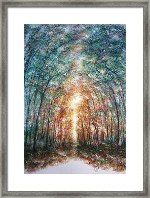 Under Heaven Framed Print by NHowell