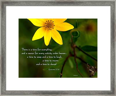 Under Heaven Framed Print