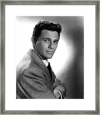 Under My Skin, John Garfield, 1950 Framed Print by Everett