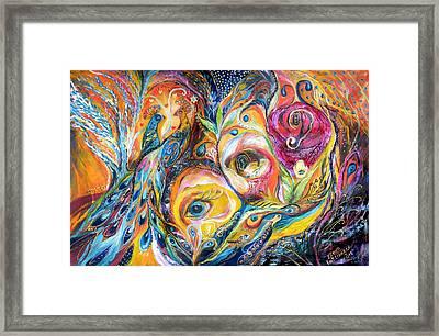 Under Olive Tree Framed Print by Elena Kotliarker